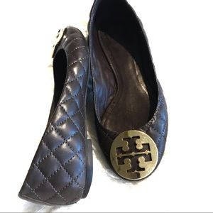 Tory Burch• Quinn Leather Quilted• SZ 5